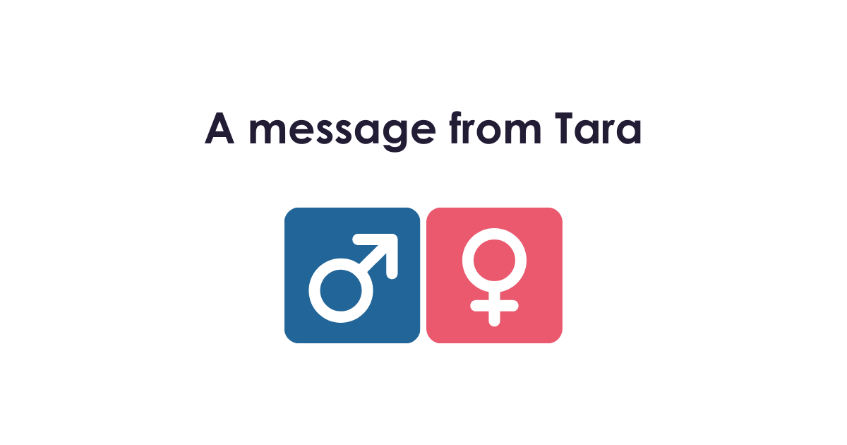 I message from Tara