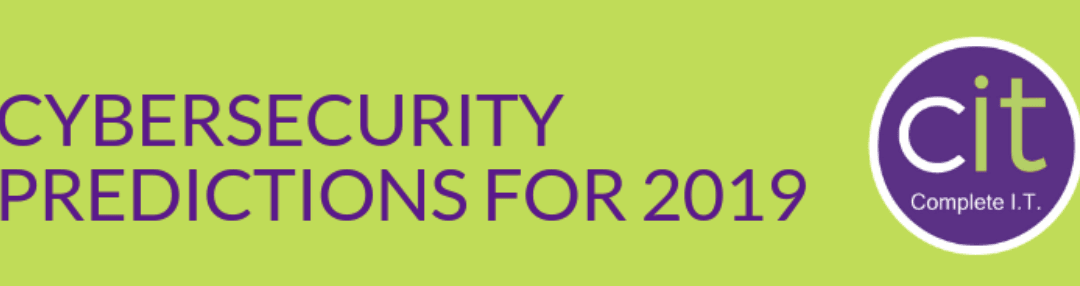 2019 Cybersecurity Predictions