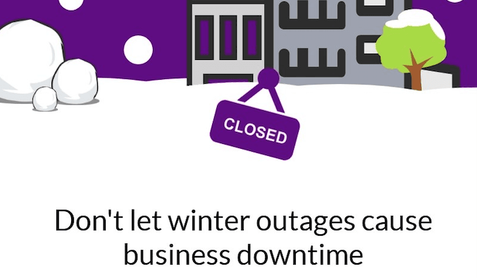 Don't Suffer Winter Outages