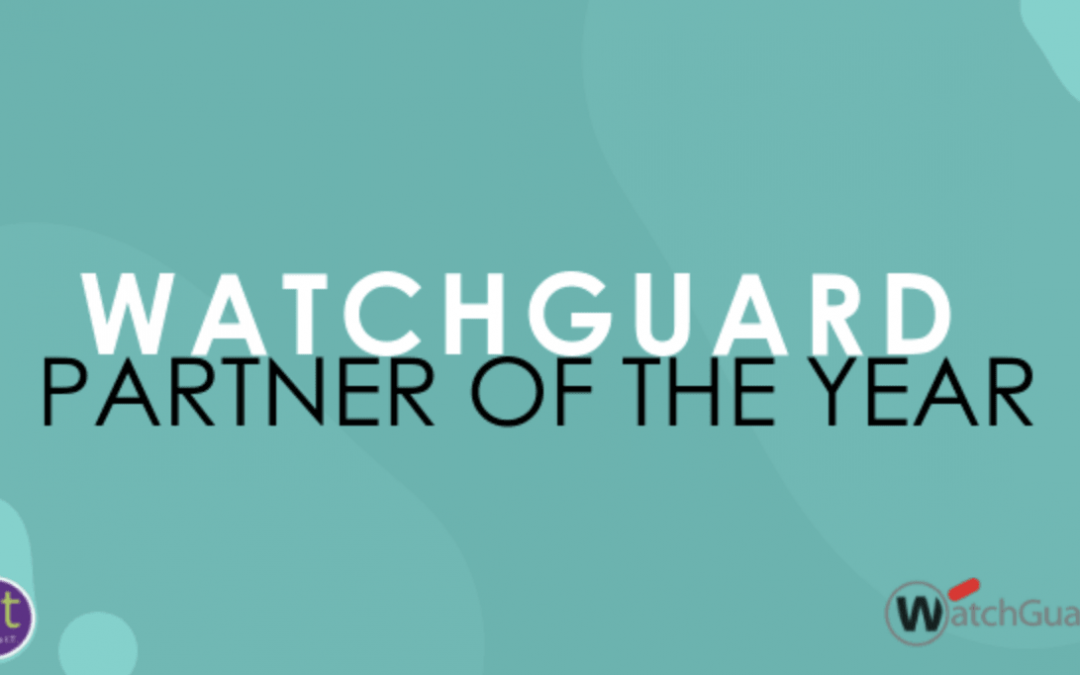 WatchGuard Partner of the Year!
