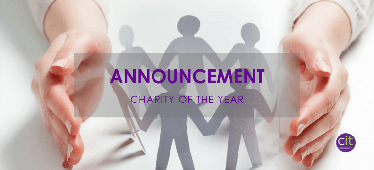 Announcement: Charity of the Year