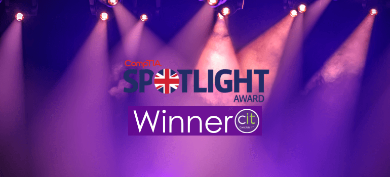 "CompTIA Spotlight ""Managed Services Provider of the Year"" Award Winner"