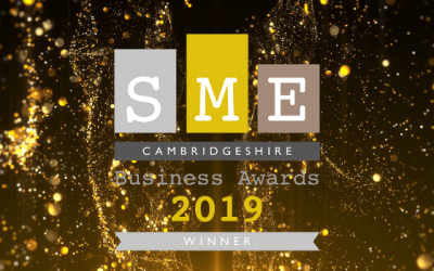 SME Cambridgeshire Business of the Year!