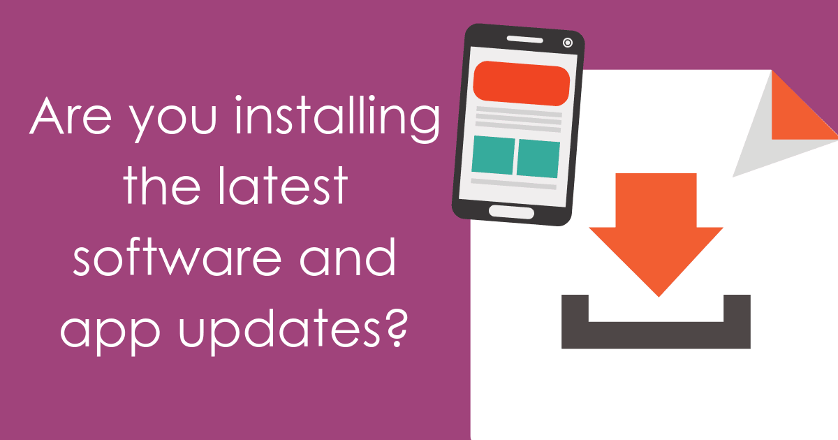 are you installing latest software