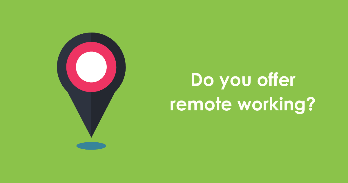 do you offer remote working