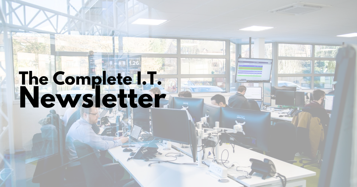 CIT newsletter – blogs