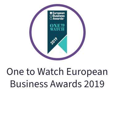 One to Watch European Business Awards 2019