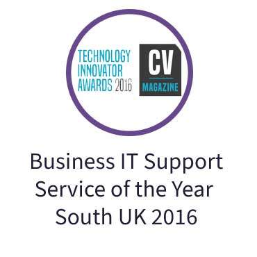 Business IT Support Service-of the Year South UK 2016