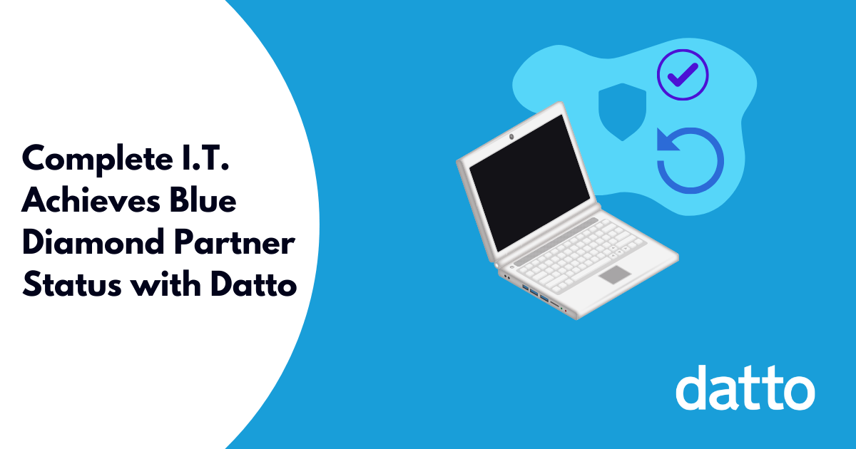 Complete I.T. Achieves Blue Diamond Partner Status with Datto