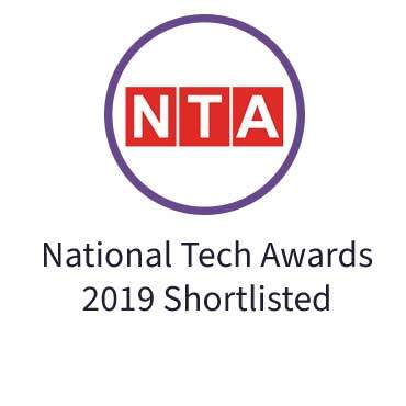 National Tech Awards 2019 Shortlisted
