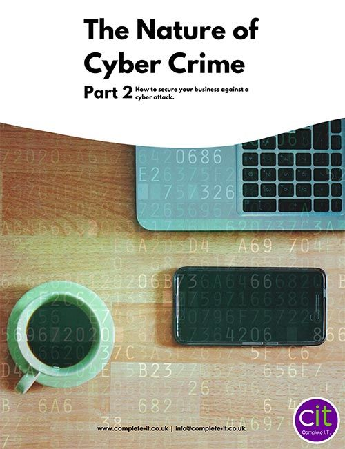 Nature of Cyber Crime Part2