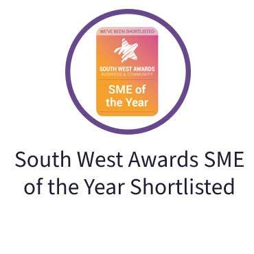 South West Awards SME of the Year Shortlisted