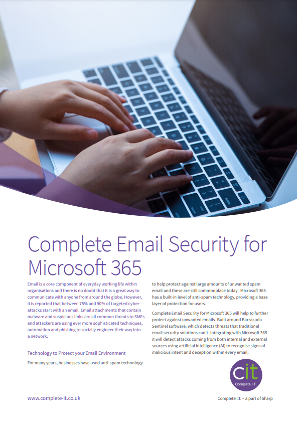Complete Email Security