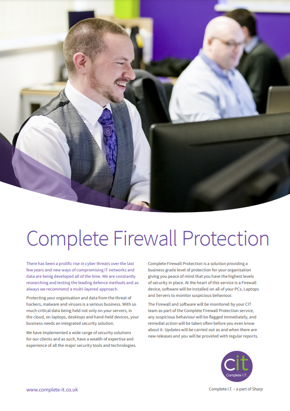 Complete Firewall Protection