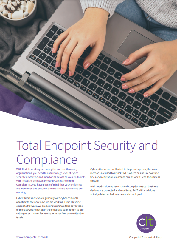 Total Endpoint Security datasheet