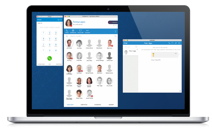 The Complete Hosted Telephony Desktop App