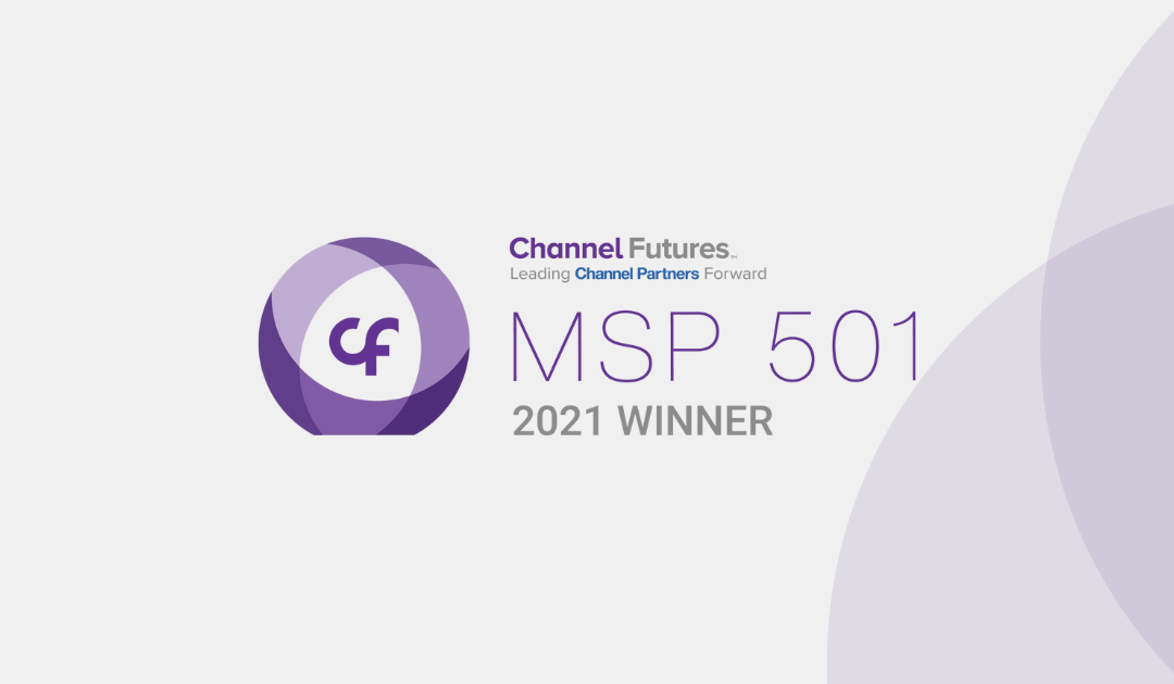 Complete I.T. Rank In the Prestigious 2021 Channel Futures MSP 501 Rankings