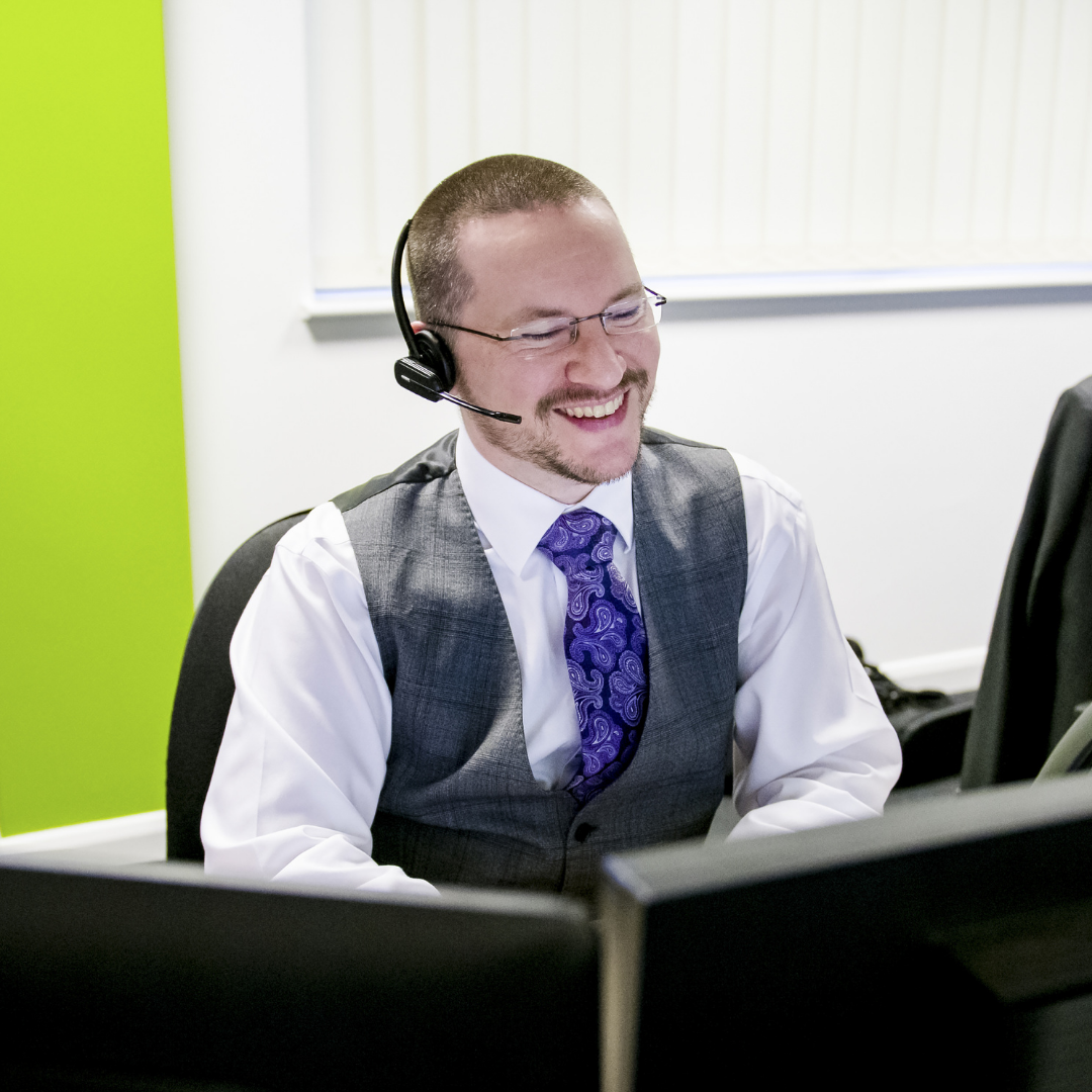 A member of the team offering IT Support in Birmingham and the West Midlands
