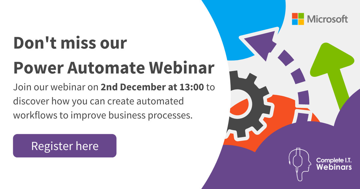 Website Pop up - Have you registered yet Power To Automate Webinar